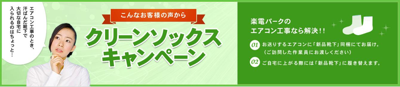 グリーンソックスキャンペーン