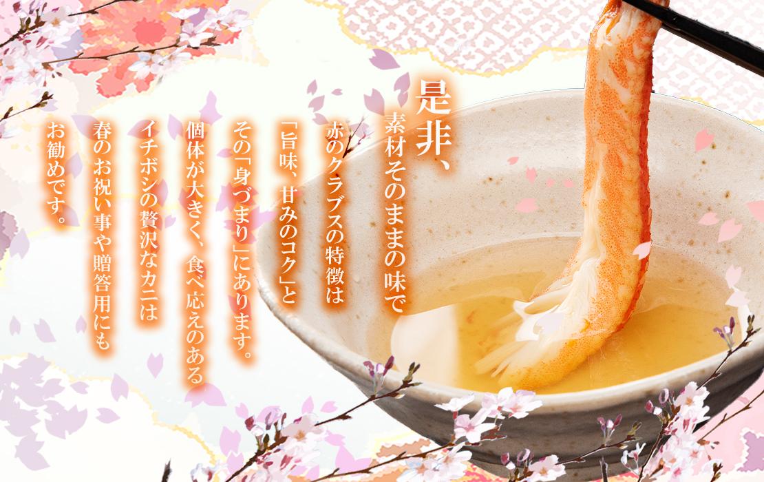 本ズワイガニ姿 特大6尾[4.5kg] 16,800円(税込)